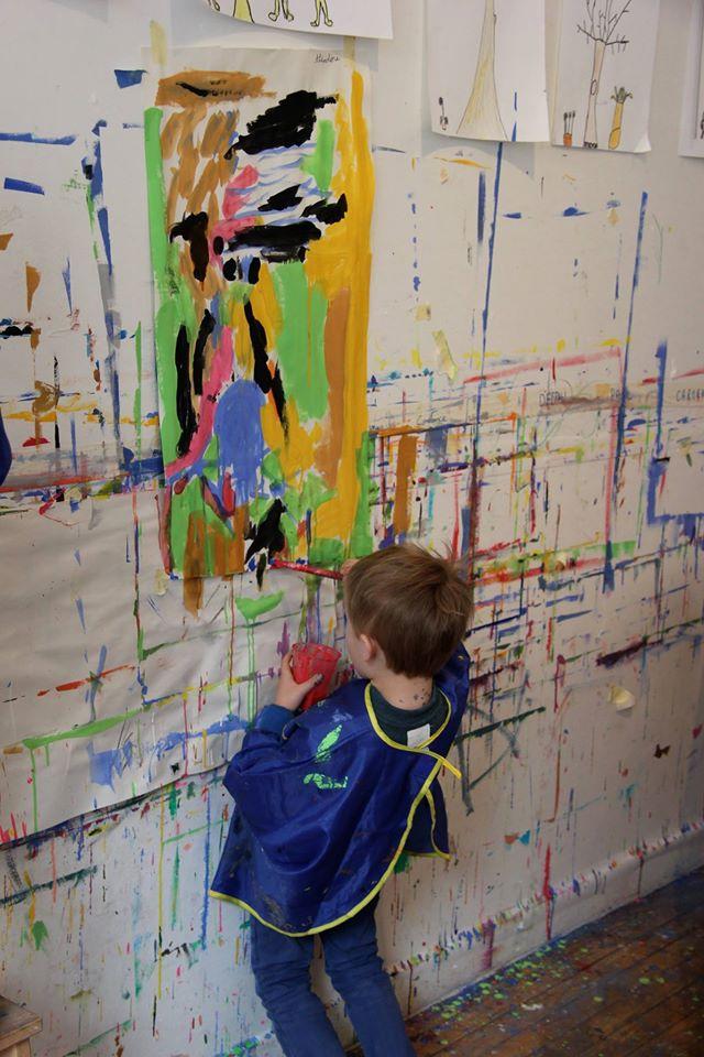 Atelier Peinture Enfant Atelier De Peinture Lillusion Paris 15