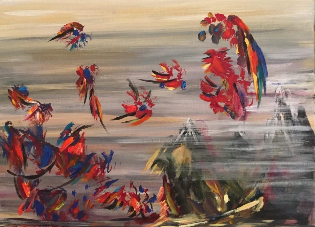 Cours De Peinture Acrylique Atelier De Peinture L Illusion Paris