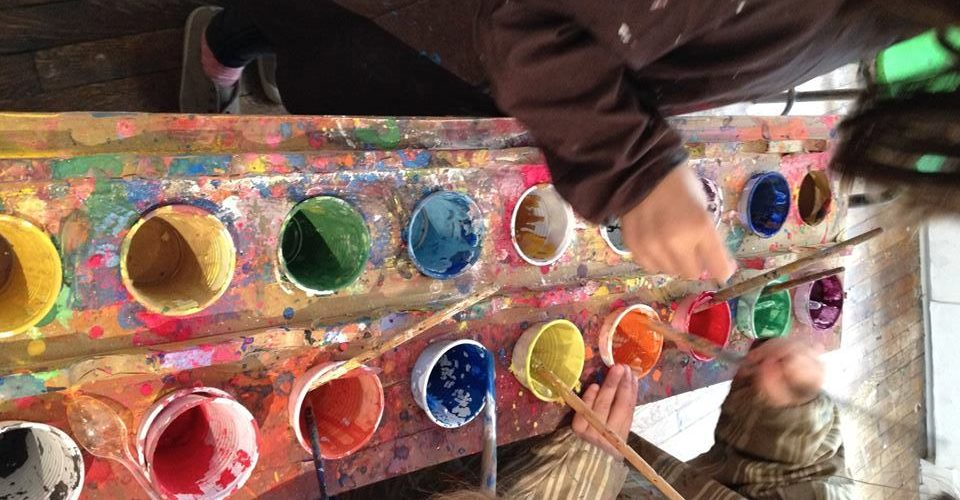 Atelier peinture enfant Atelier illusion vues d'ailleurs paris 15