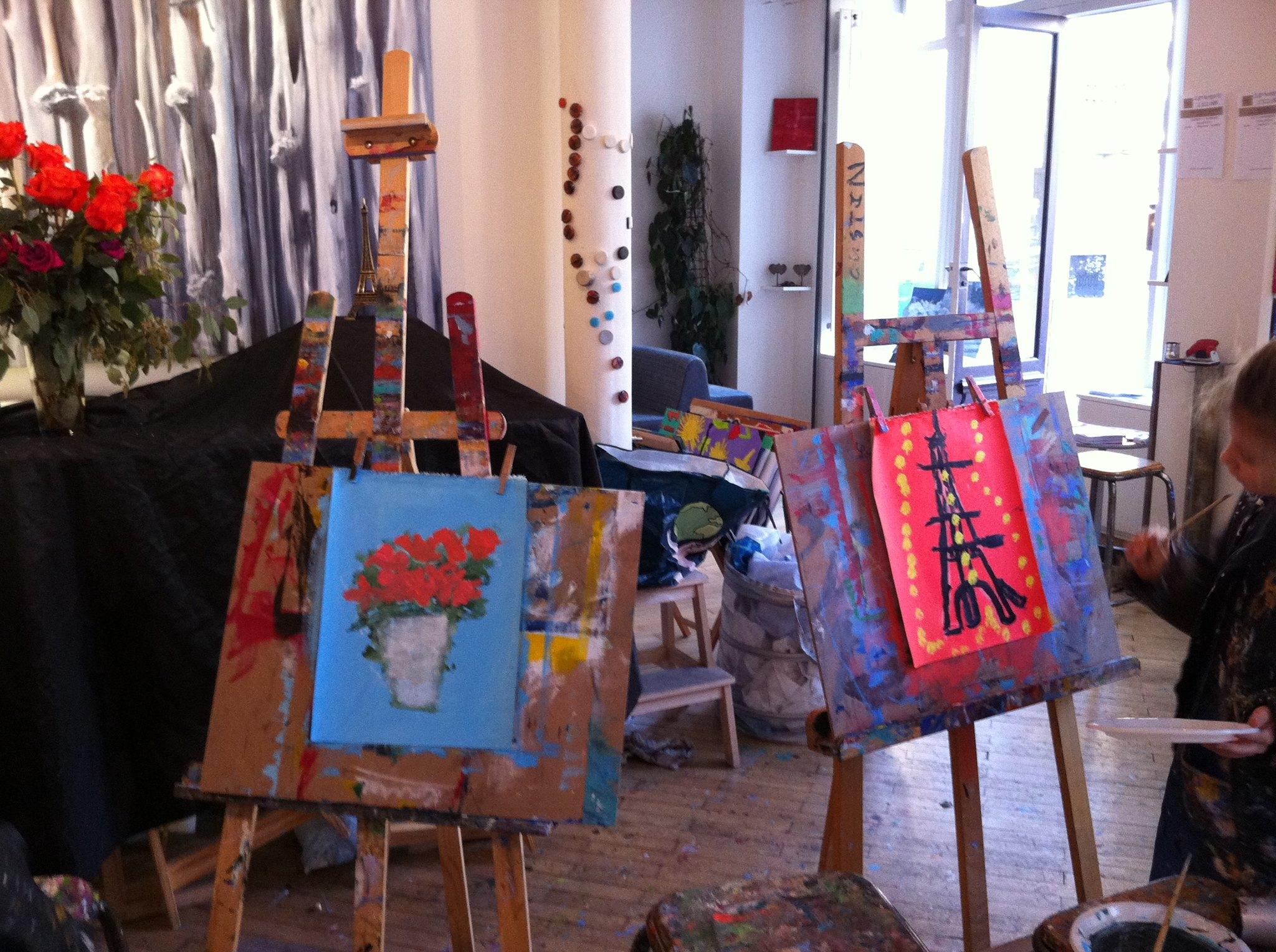 Turbo Stage enfant paris peinture creation atelier l'illusion paris 15 UN56