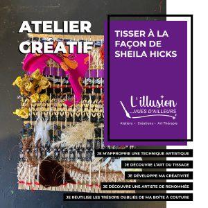STAGE  ADULTES SENSIBILISATION A L'ART THERAPIE @ illusion... vues d ailleurs   Paris   Île-de-France   France